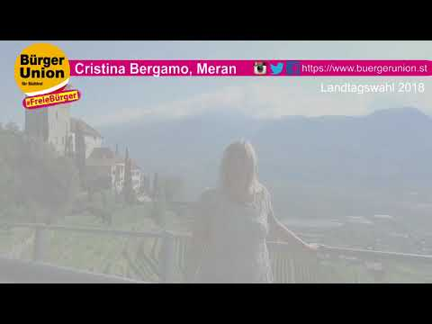Cristina Bergamo - Landtagswahl 2018 - unsere Kandidatin für Freiheit, Heimat und Gesundheit