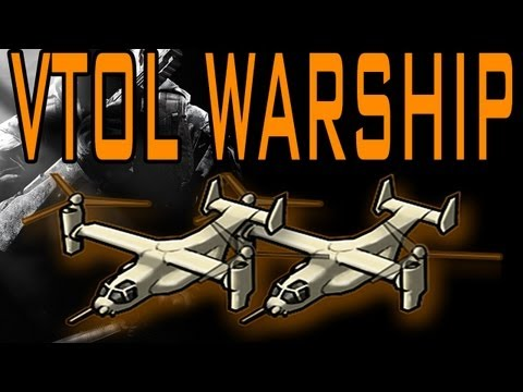 Black Ops 2 - Double VTOL Warship Gameplay! (Live Call of Duty BO2)