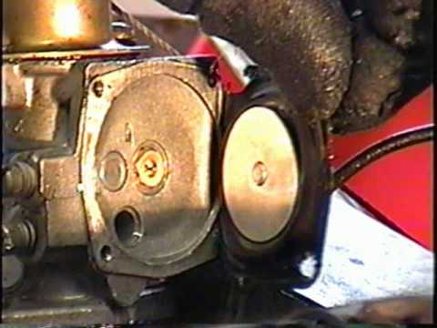 HOW TO REPLACE CARBURETOR DIAPHRAGM ON TORO 2 CYCLE SNOWTHROWER PART 1