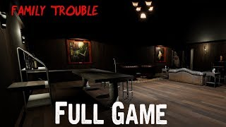 Family trouble Full Playthrough Gameplay (Short indie horror Game)