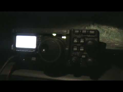 New Yaesu FT-897D Ham Radio QRP Working Brazil PT7CB