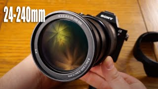 Sony FE 24-240mm OSS Lens Review - Real World, Lab and More...