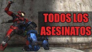 Halo: Reach - Todos Los Asesinatos Posibles.