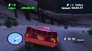 CARROS 1 GAME DUBLADO PORTUGUES RELÂMPAGO MCQUEEN CORRIDA XERIFE CARS 1 MOVIE GAME PORTUGUES
