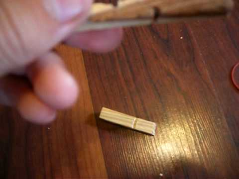 How to Make a Toothpick Gun/