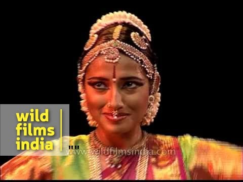 Bharatnatyam - Traditional Indian dance performance by trained...