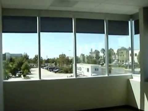Somfy Motorized Roller Shades by 3 Blind Mice Window Coverings - San Diego