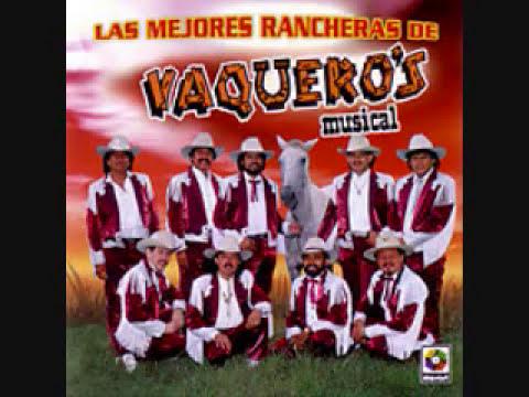 Banda Vaqueros Musical Libro De Recuerdos
