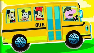 Wheels on The Bus Nursery Rhymes for Babies and Toddlers