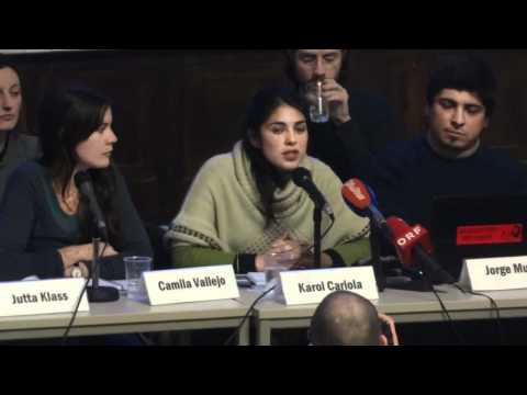Podiums-Diskussion zu den chilenischen Bildungsprotesten 31.01.2012 Uni Hamburg