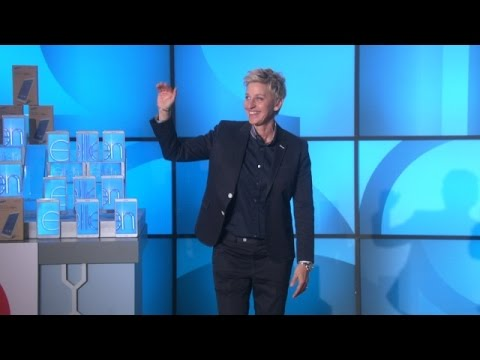 Ellen Thanks Her Audience After The Show