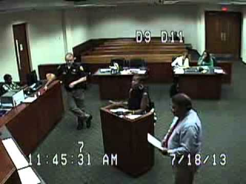 Police Miss Court 12 times - Pt 6 of 16 - Connie Marshall - Death Threats from Police - 7/18/2013
