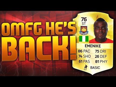 OMFG EMENIKE IS BACK!!! FIFA 16 ULTIMATE TEAM