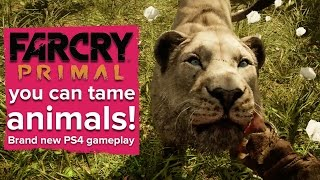 Far Cry Primal gameplay - you can tame animals!
