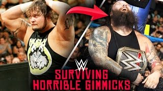 10 WWE Wrestlers Who SURVIVED HORRIBLE Gimmicks!