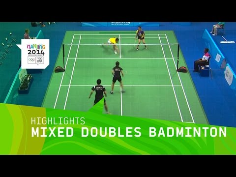 Mixed Doubles Badminton - Highlights | Nanjing 2014 Youth Olympics