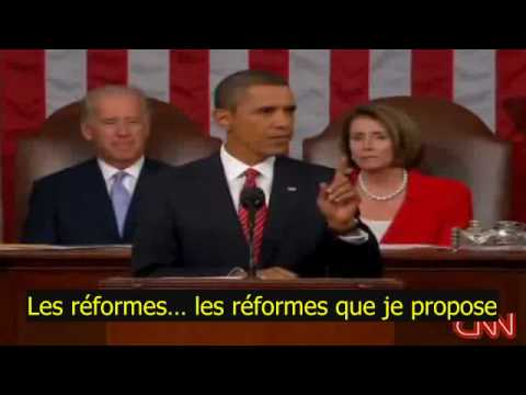 Barack Obama accusé de menteur (You lie!) VOSTF