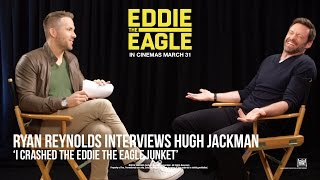 Eddie The Eagle [Ryan Reynolds Interviews Hugh Jackman in HD (1080p)]
