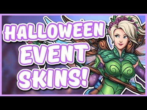Overwatch - HALLOWEEN SKIN IDEAS #2 (Devil Mei, Fairy Mercy, AND MORE)