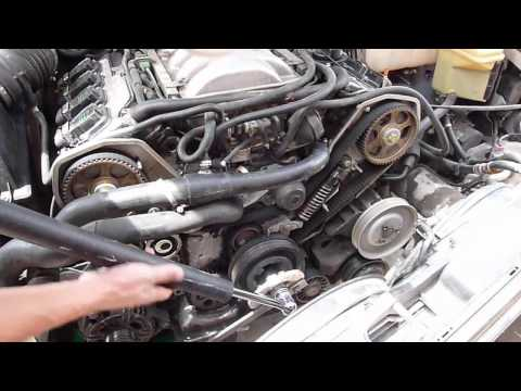 Replace A8 D2 Water Pump Without Timing Belt