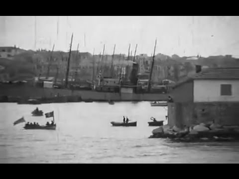 Rare silent footage of Beirut from early 1920s