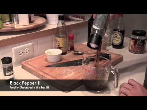 Asian Salad Dressing….. Put it on everything!!! Healthy Cooking Tutorial BenjiManTV