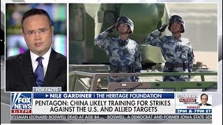 """Nile Gardiner: China's Goal Is """"To Challenge the United States As A Global Superpower"""""""