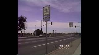 November 1999! Baseline and Riverside street, Rialto CA BEFORE AND AFTER
