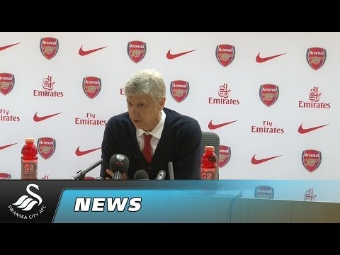 Swans TV - Reaction: Wenger on draw with Swansea