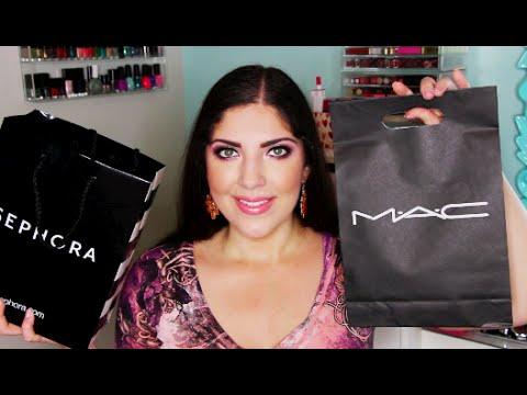 High End Beauty Haul | Sephora, MAC, Pacifica, Vegan Cuts