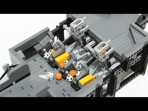 LEGO GBC module : Lifter triggered by a stuck ball