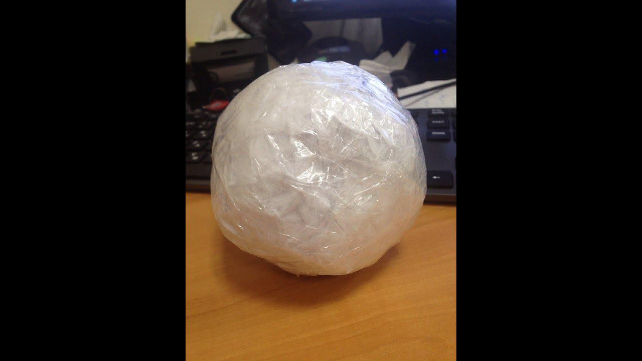 Как сделать мяч с бумаги
