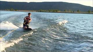 knee boarding trick video