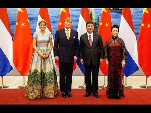 國事訪問阿姆斯特丹習近平  State Visit Xi Jinping to Amsterdam.