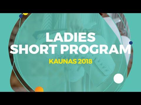 Alexandra Trusova (RUS)   Ladies Short Program   Kaunas 2018