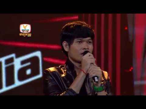 The Voice Cambodia - Heang Sopheaktra - 1 Khae 10 Thngai - 17 Aug 2014