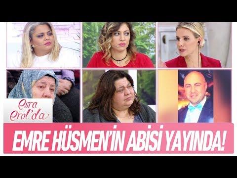 Emre Hüsmen'in abisi yayında! - Esra Erol'da 12 Ocak 2018
