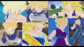 The Evolution of Super Saiyan Transformations