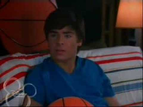 troy talks with his father hsm2
