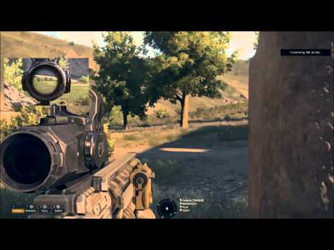 Arma 3: 2nd Marine Operations Battalion - Defending the crash.
