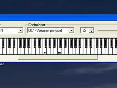 Curso de piano 04 - La primera canción al teclado