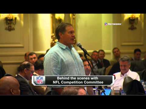 Bill Belichick NFL Committee BTS
