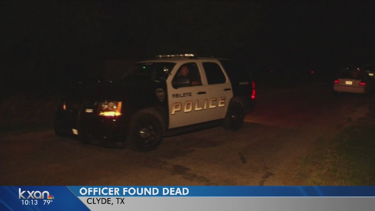 Abilene officer killed at his home