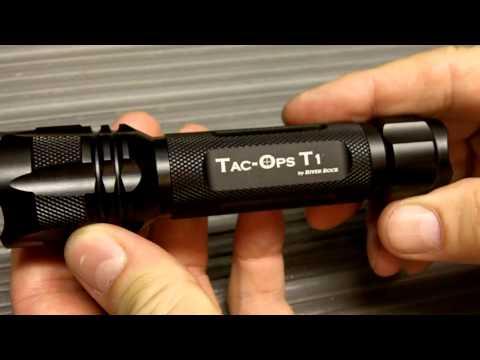River Rock Tac-Ops T1 Flashlight