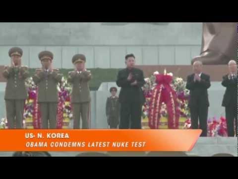 Obama Condemns N.Korea Nuke Test, Catholics Stunned By Pope, Veteran Receives Military Award
