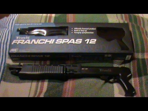 ASG Spas 12 Airsoft Gun Review and Shooting Test