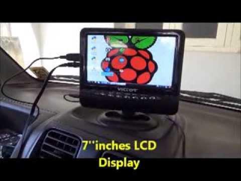 Raspberry Pi Car Reverse Camera Using Android Phone