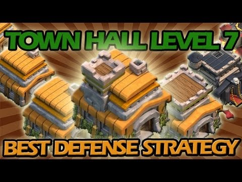 BEST Town Hall Level 7 Defense Strategy for Clash of Clans +  Awesome Raiding Strategy!