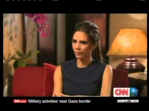 Victoria Beckham - interview 2012 [ CNN Talk Asia ]