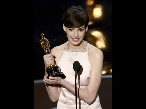 Anne Hathaway Best Actress Oscars 2013!
